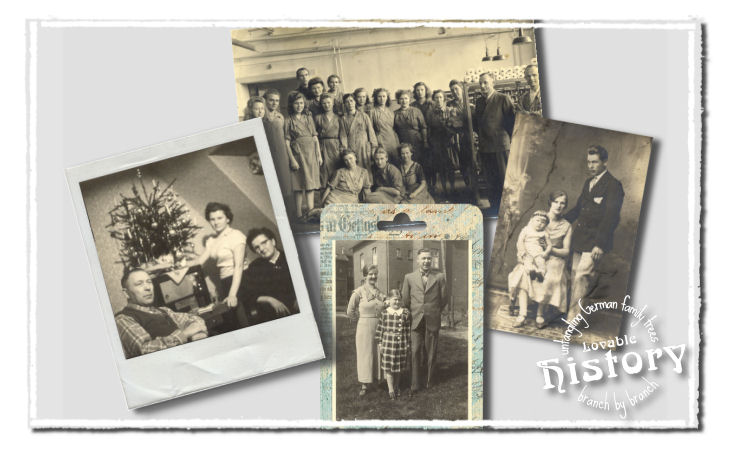 Lovable history - life story in 52 weeks - maternal family