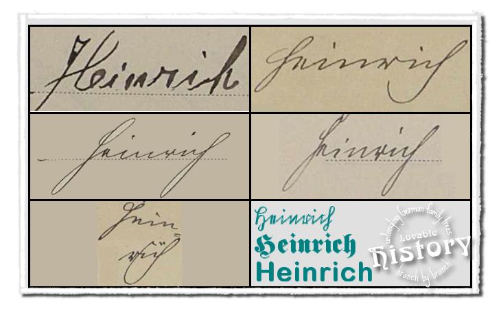 Deciphering names in old German script just takes practice [www.lovablehistory.com]