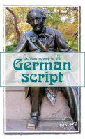 German names in old German script: Christian