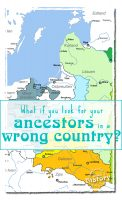 What if you are looking for your ancestors in a wrong country? [www.lovablehistory.com]