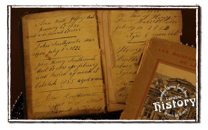 Terms and idioms in old German documents [www.lovablehistory.com]