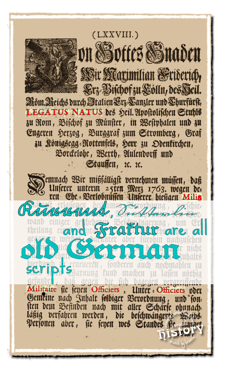Kurrent suetterlin and fraktur all belong to the old german scripts kurrent stterlin and fraktur script lovablehistory thecheapjerseys Gallery